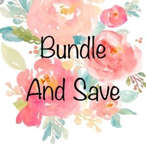 Other - Free shipping on bundles with 3 or more items!!